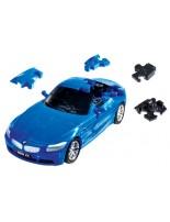Puzzle 3D CARS - BWM Z4 (niebieski)